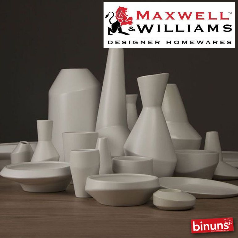 At Binuns,the Maxwell & Williams range is a diverse collection of home wares using a multitude of materials  to create a unique collection encompassing all areas of the home.   http://www.binuns.co.za/en-za/brands/maxwellwilliams.aspx