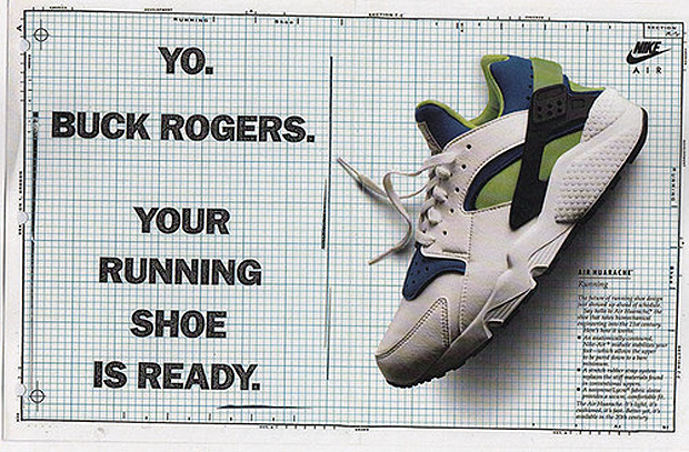 Nike Air Huarache a brief history by size? | SNEAKERNESS