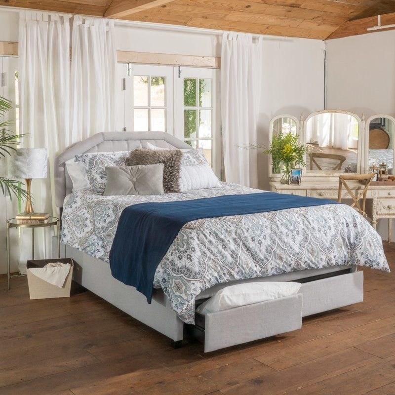 Bentonville Upholstered Storage Platform Bed Queen