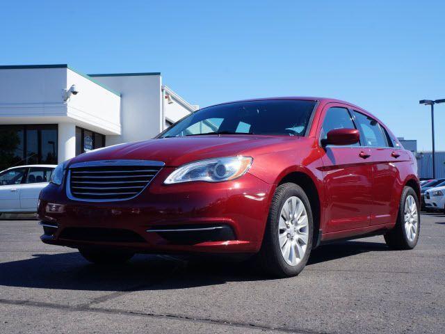 2013 Chrysler 200, 43,724 miles, $13,888.