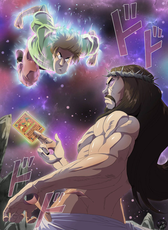 power of god and anime endofdaysonmars