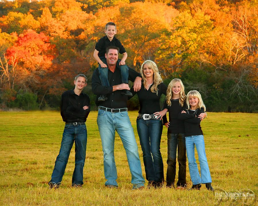 Outdoor Family Photos Ideas