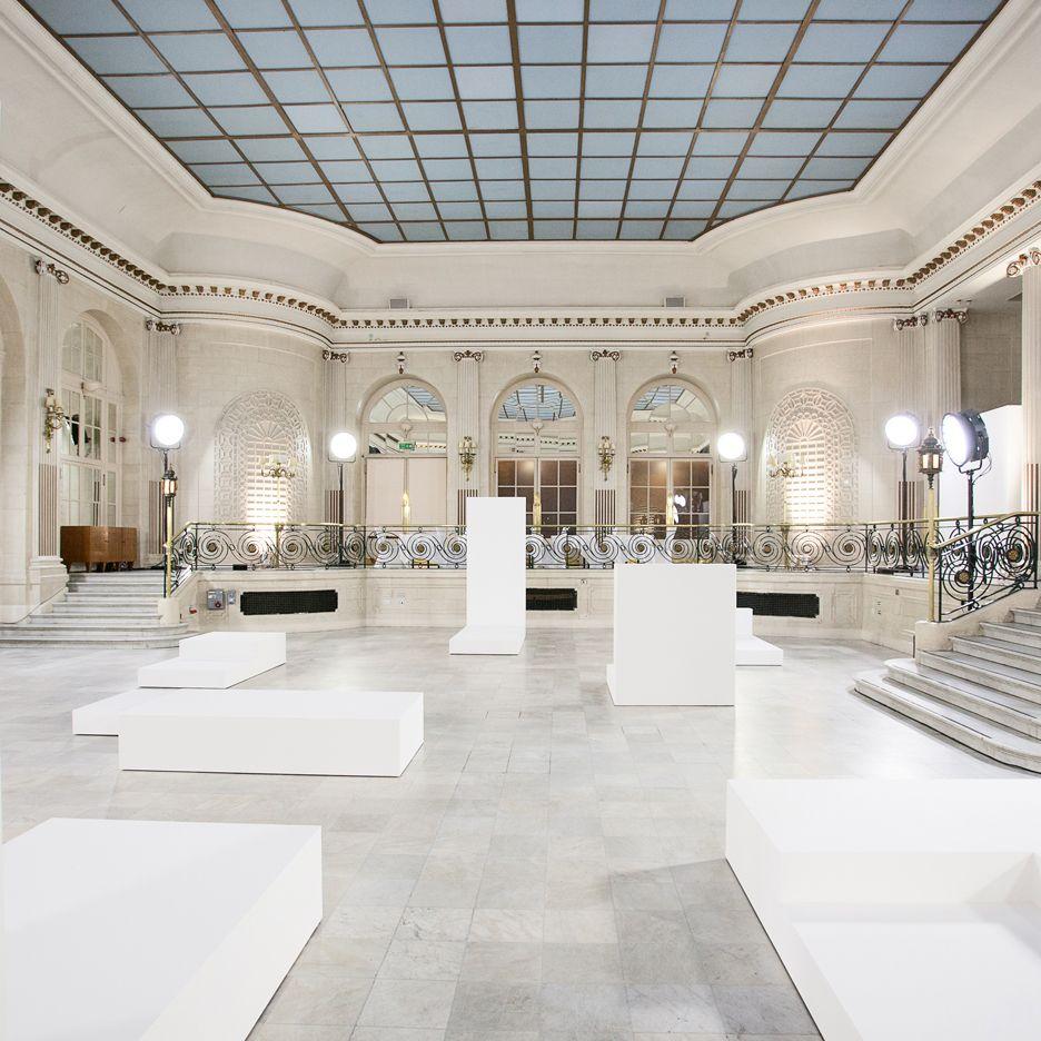 Mackintosh AW16 presentation takes place on minimal platforms by Studio Cullen Williams