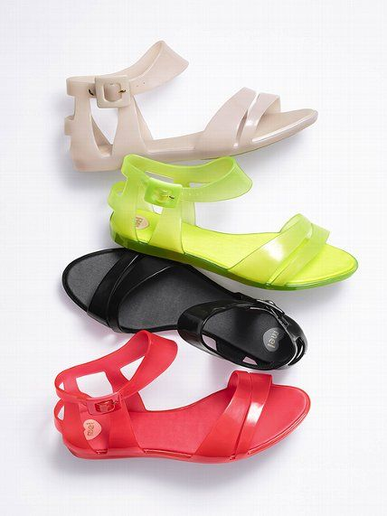 Mel by Melissa Macadamia Jelly Sandal at Victoria Secret