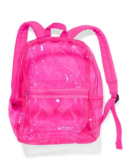 clear backpack PINK perfect  2d5f88a1154fe