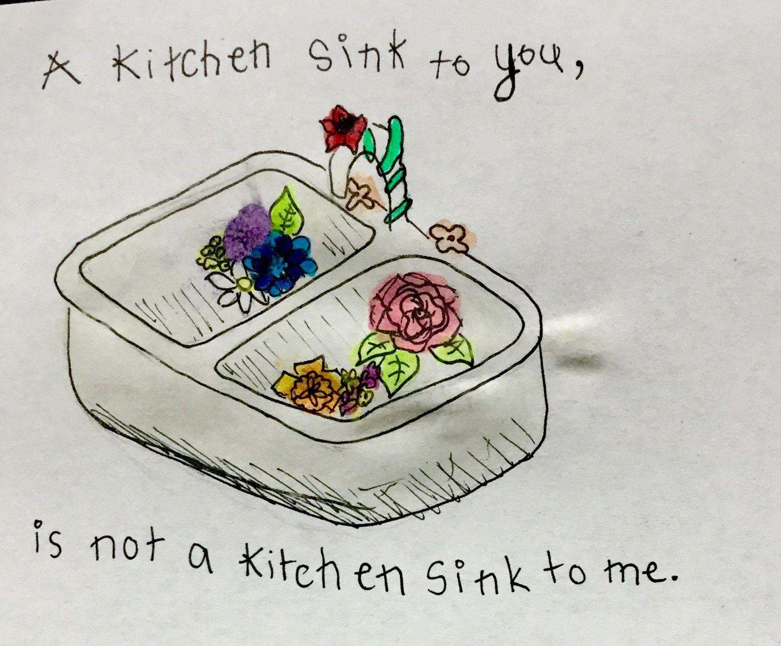 Kitchen Sink Twenty One Pilots Drawing Kitchen Sink  Twenty One Pilots Watercolour Art  Clique Art