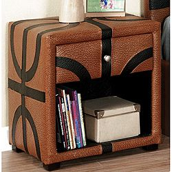 Basketball Themed Designed Nightstand For The Home Pinterest - Basketball bedroom furniture