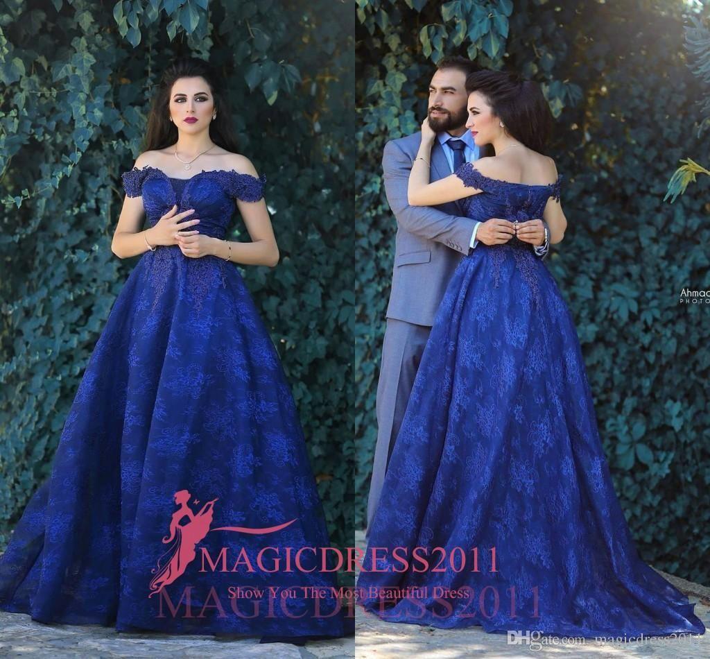 Blue mermaid dress for women evening