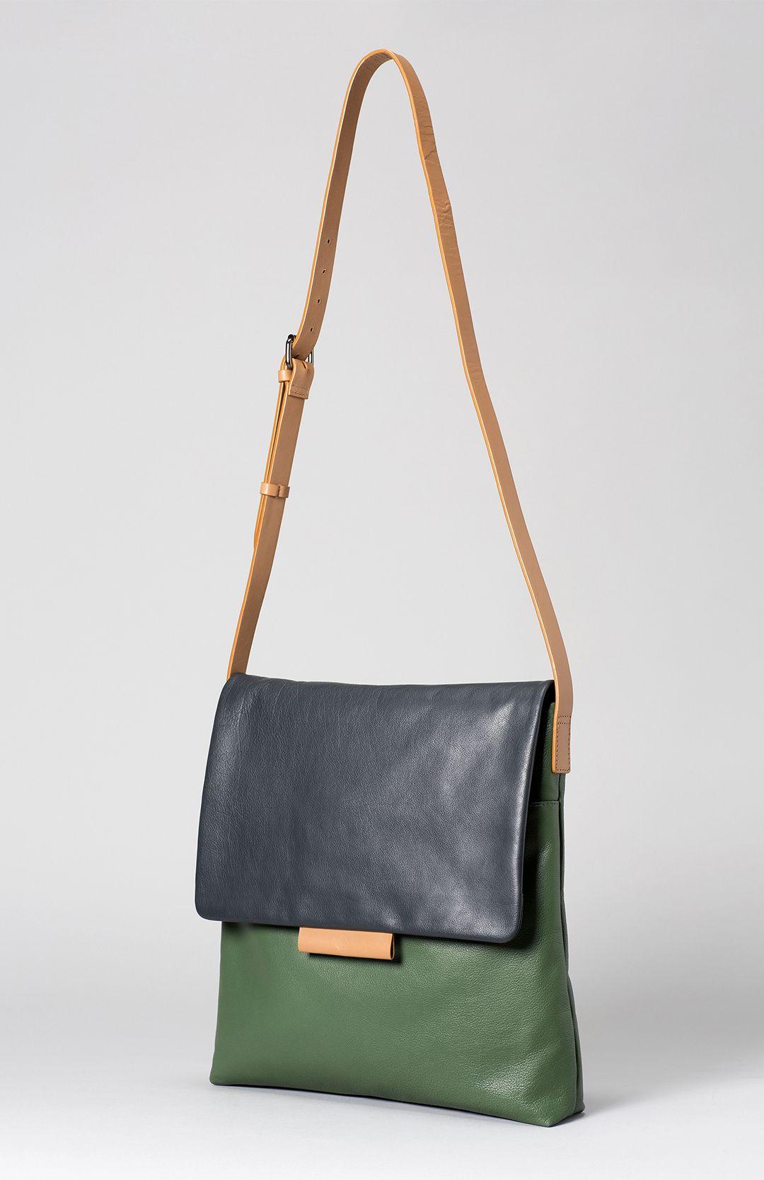 Farve Large Leather Bag Elk