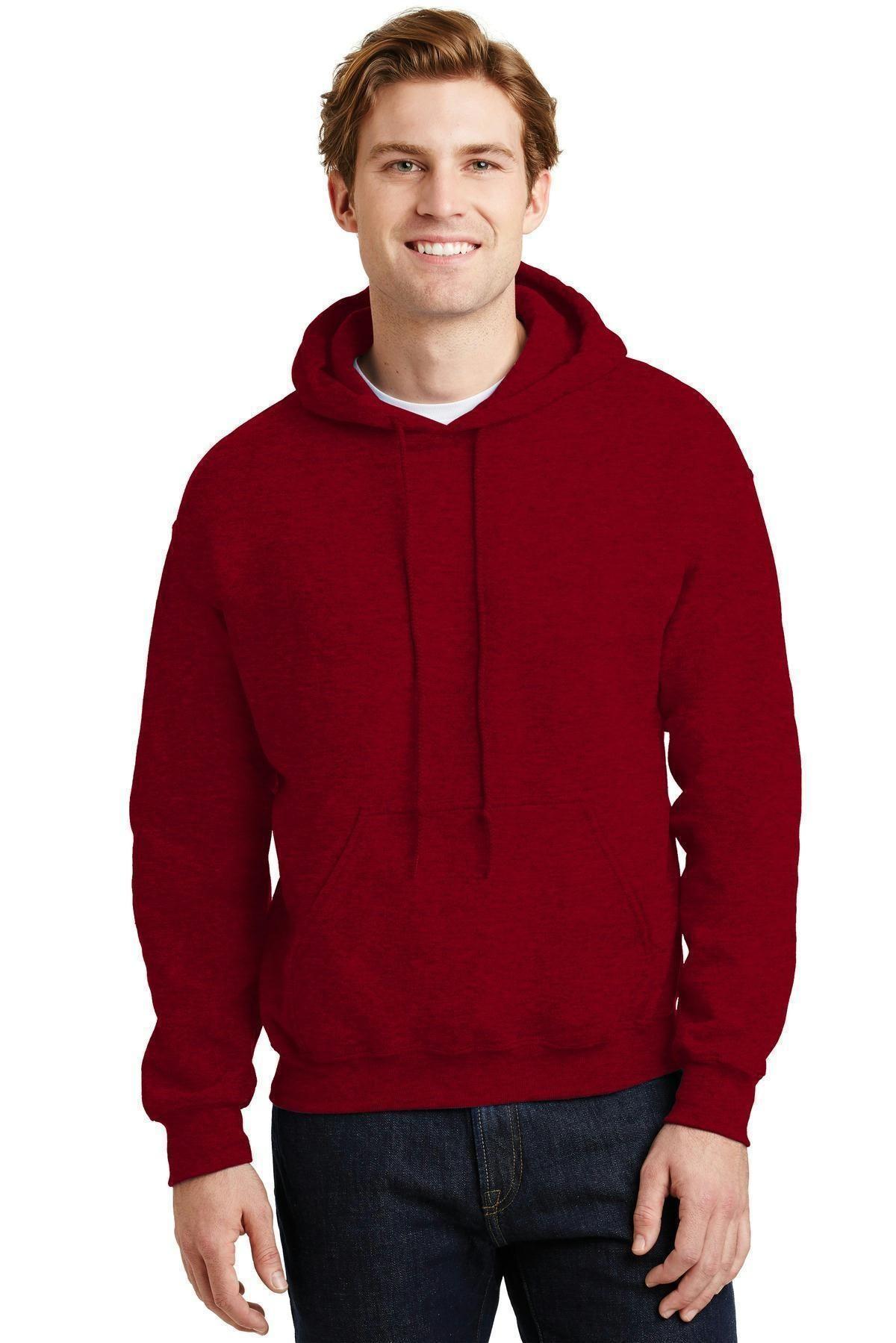 Antique Cherry S Gildan Heavy Blend Hooded Sweatshirt