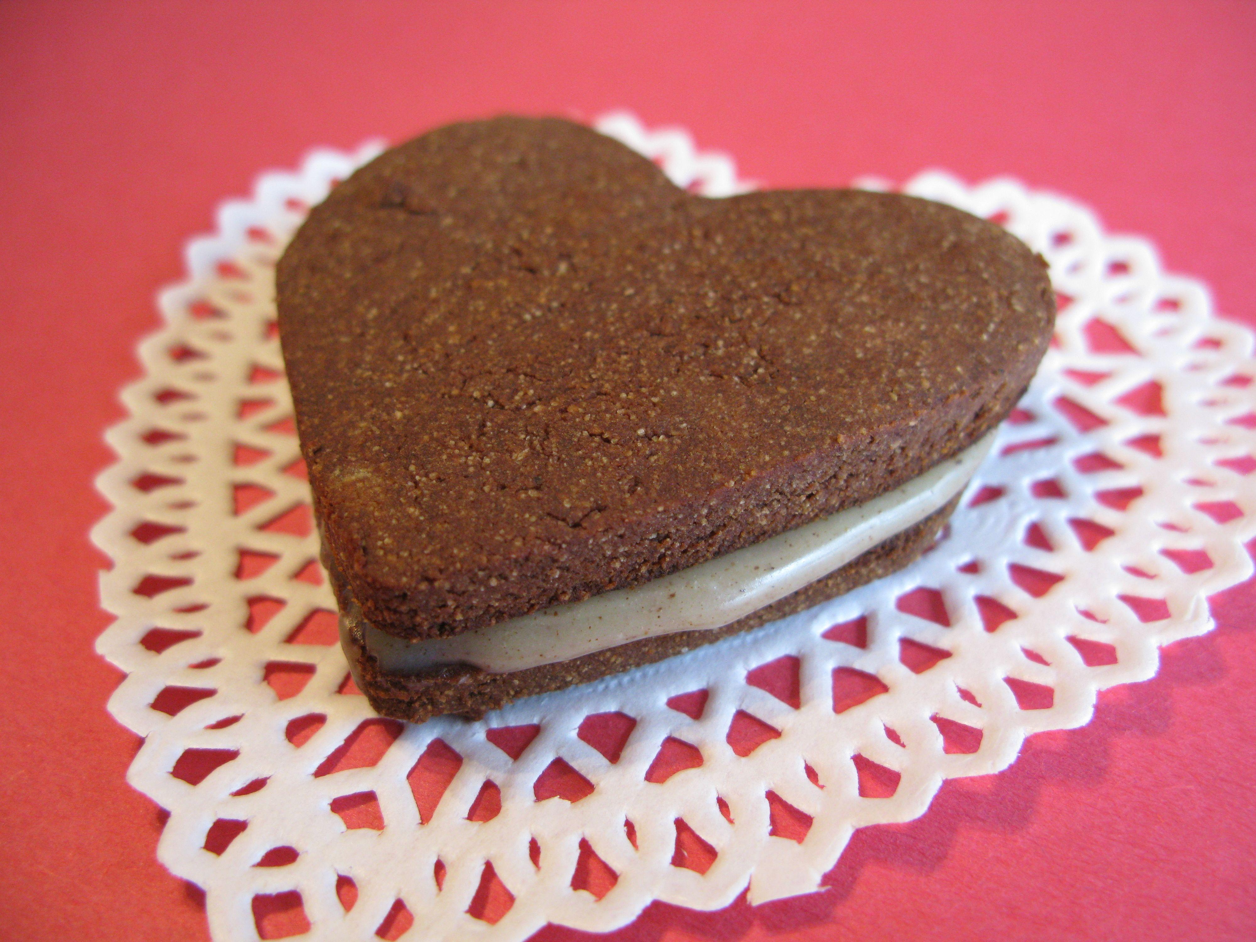 Paleo nut free chocolate hearts