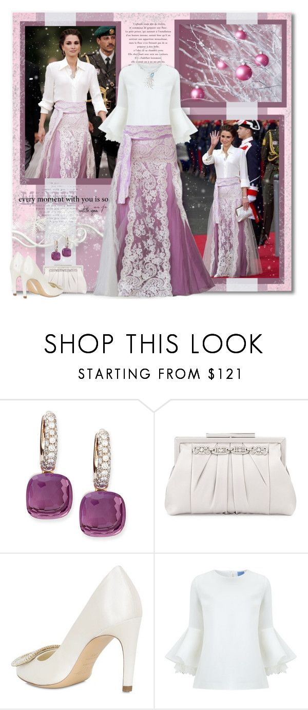"""Queen in Couture"" by petri5 ❤ liked on Polyvore featuring Pomellato, Badgley Mischka, Roger Vivier and macgraw"