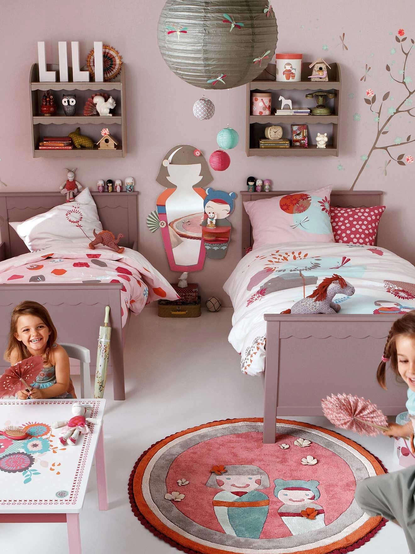 love this housse de couette fille r versible yakita chambre enfant kids 39 rooms kids