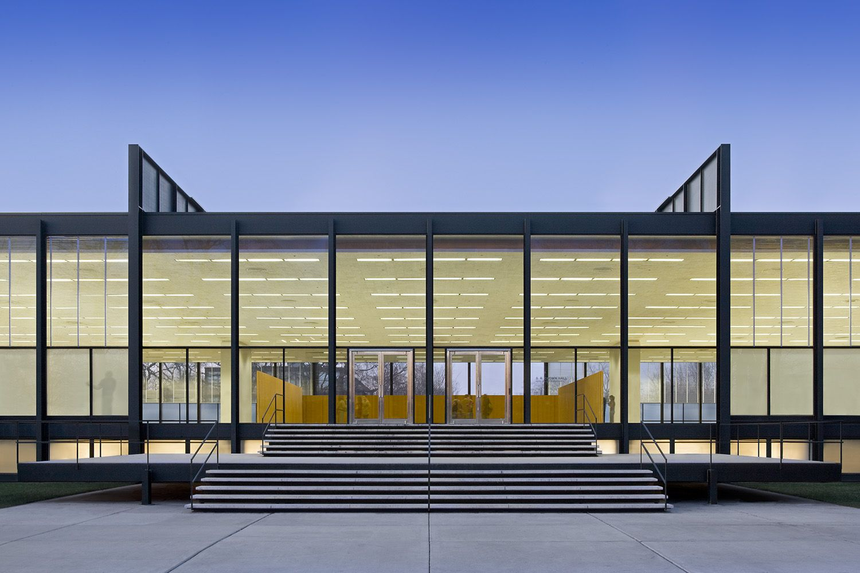 Villa tugendhat arkitalker mies van der rohe - Crown Hall Illinois Insitute Of Technology Mies Van Der Rohe