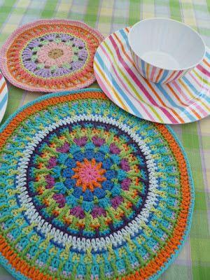 The 8th Gem: A SECOND MANDALA.... | Crochet | Pinterest
