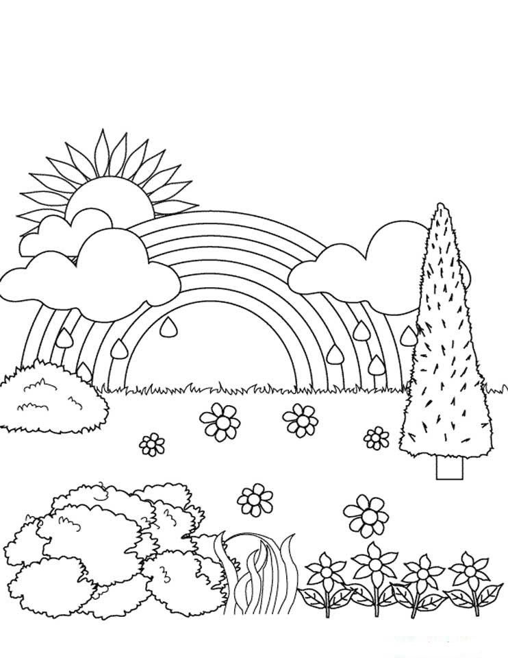 Dibujos Para Colorear Arcoiris 11 Arturo Coloring Pages Nature