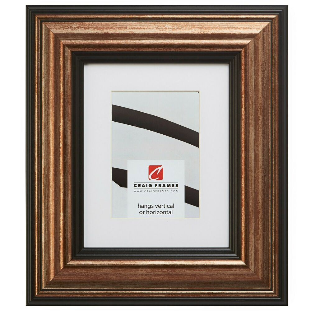 21307201 17x22 Aged Copper Black Picture Frame Matted To Display A 13x19 Photo Fashion Home G Picture Frame Mat Black Picture Frames Picture Frame Molding