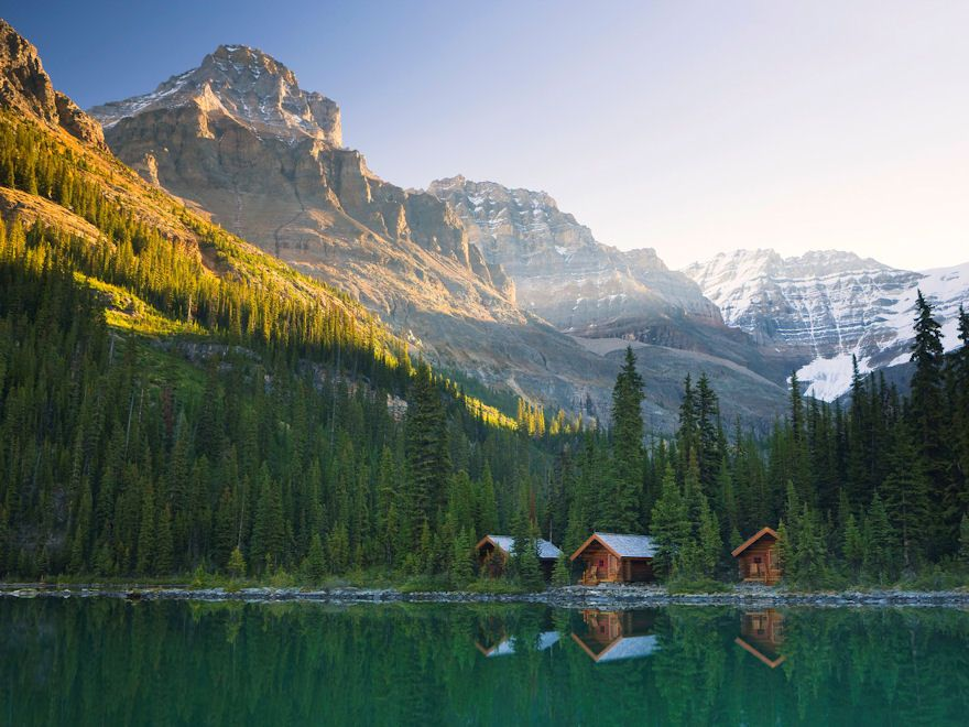 Lake O'Hara Lodge Cabins, Yoho National Park, British Columbia