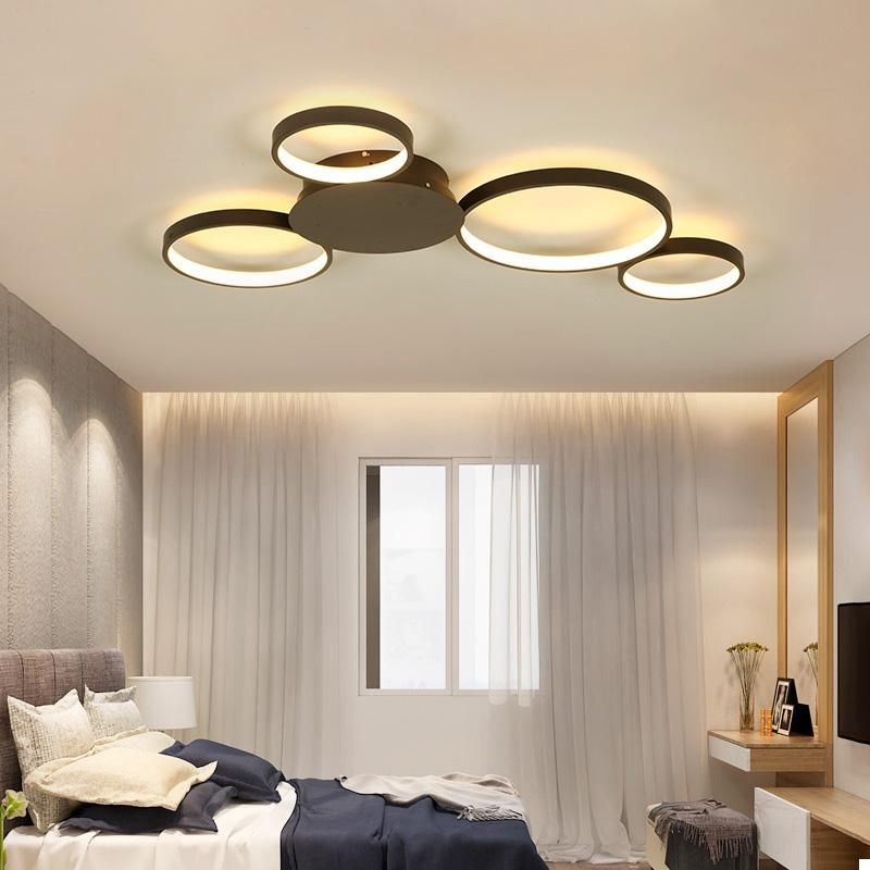 Led Ceiling Lights With Coffee Or White Finish For Home Deco