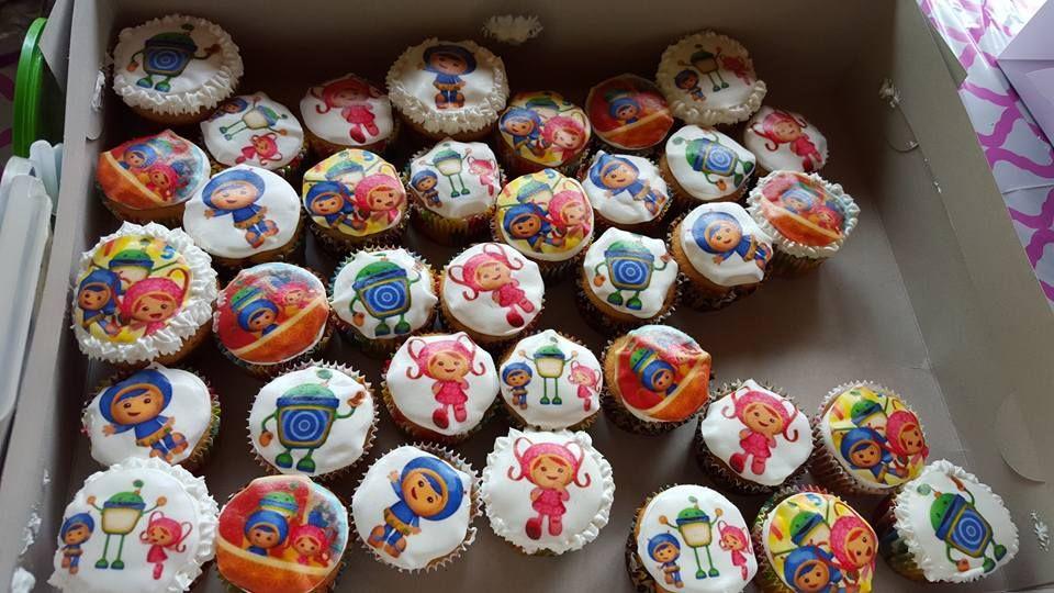 Team Umizoomi Cupcakes
