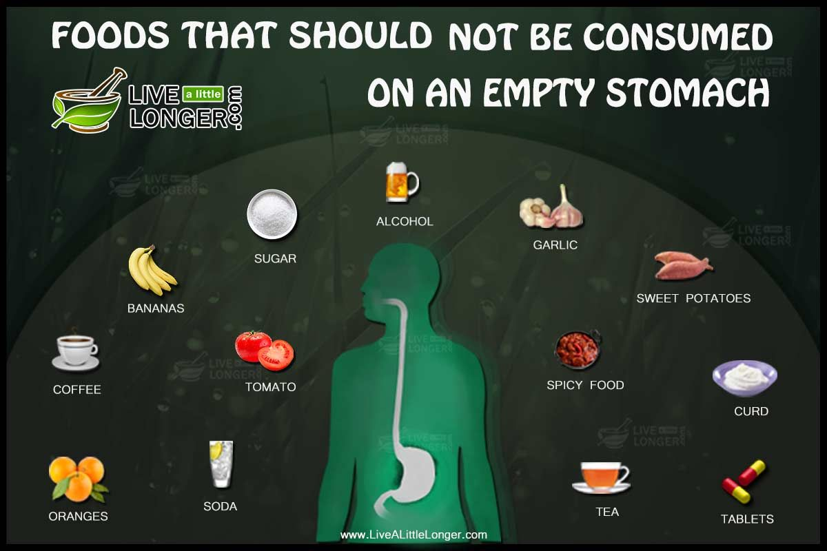 Foods And Liquids That Should Not Be Consumed On An Empty Stomach Here Are  Many Articles