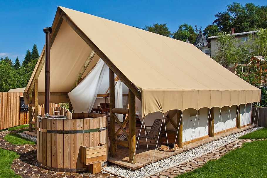 Glamping Tents Garden Village Bled Slovenia Tent