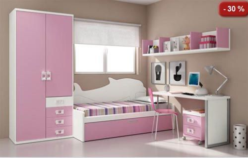 Armarios peque os google search complete bedroom set - Dormitorio infantil pequeno ...