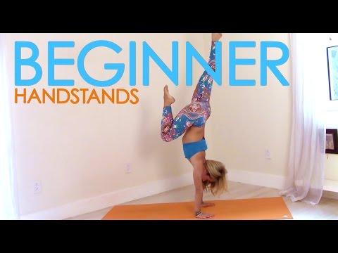 beginner handstands with kino yoga  youtube  yoga