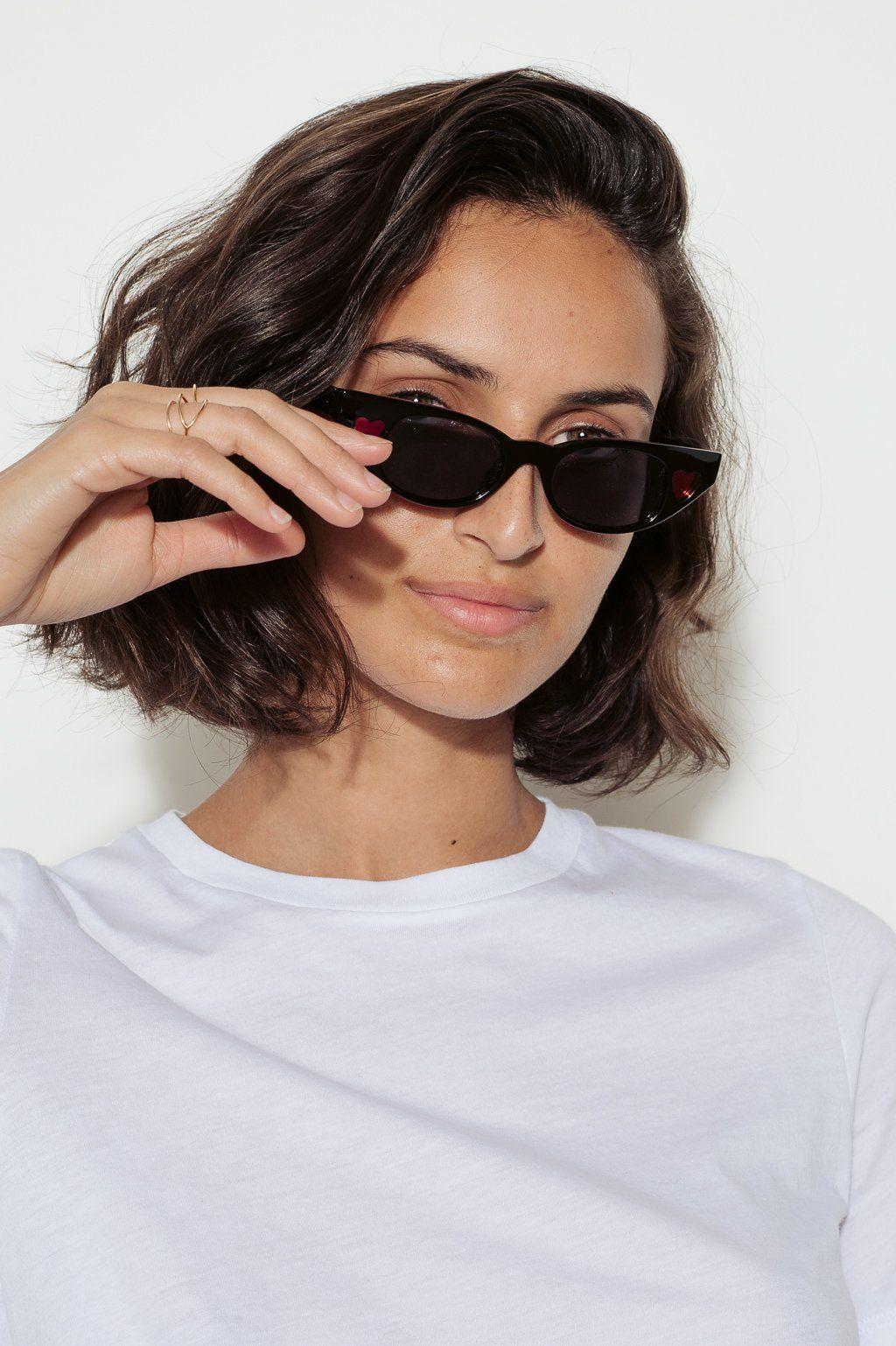 ff98808ebe2 Adam Selman X Le Specs The Heartbreaker Cat-Eye Sunglasses