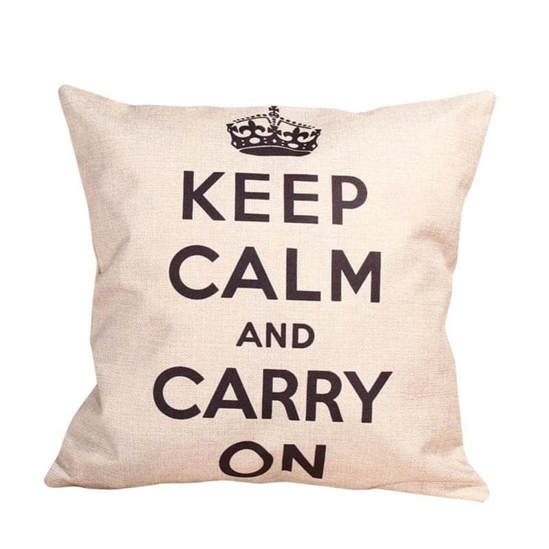 Like and Share if you want this  'Keep Calm and Carry on' Cushion Cover Beige     Tag a friend who would love this!     FREE Shipping Worldwide     Buy one here---> http://www.cutepillowcases.com/product/keep-calm-and-carry-on-cushion-cover-beige/