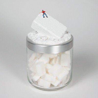 Barattolo contenitore per lo zucchero,per la cucina moderna ...