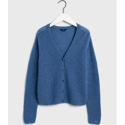 Gant Gerippter Woll Cardigan (Blau) GantGant #ponchodress