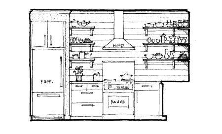 Modern Kitchen Elevation kitchen_west | < kitchen design > | pinterest | kitchens, drywall