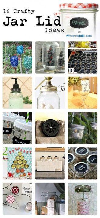 Crafts with Mason Jars- at blissfullyeverafter.net