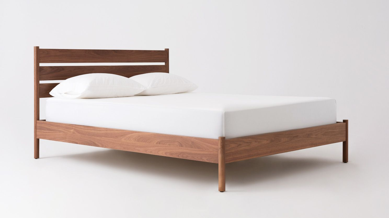 Best Monarch Bed With Images Slatted Headboard 400 x 300