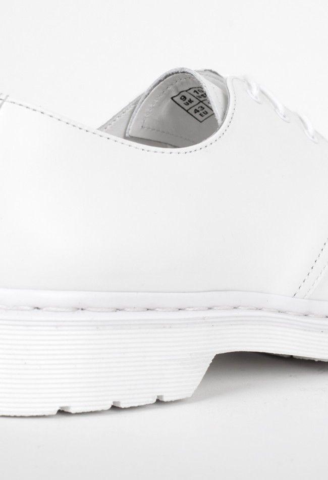 Dr Martens 1461 Mono Shoe White – Voo Store