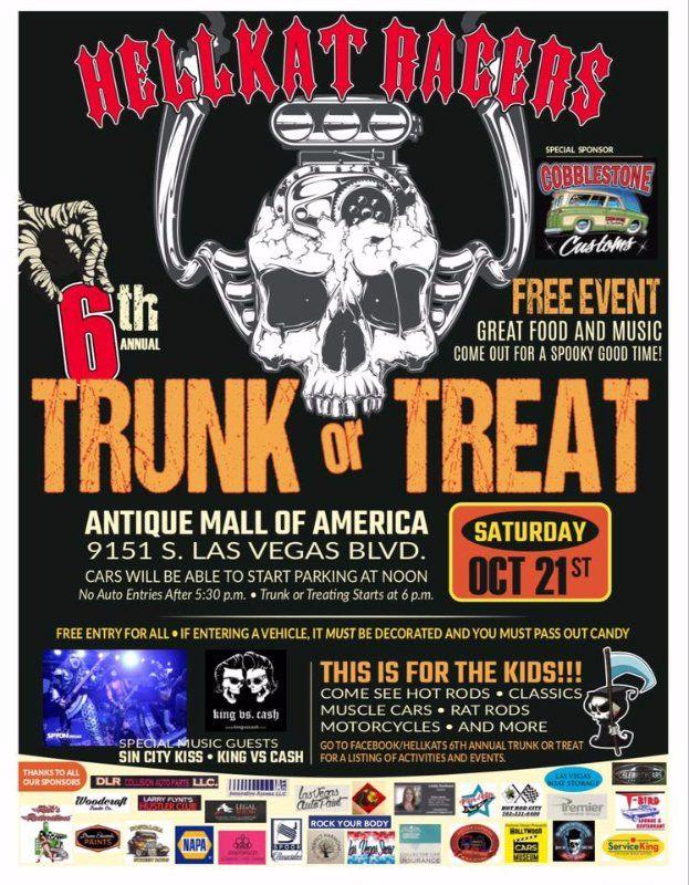 Las Vegas Car Show and Trunk or Treat Vegas car show