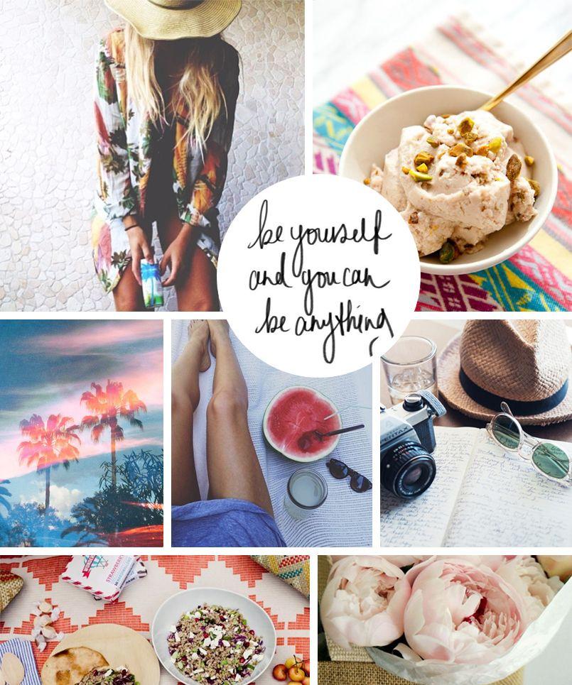 Moodboard #50 — Be yourself… » Eunoia Studio Blog