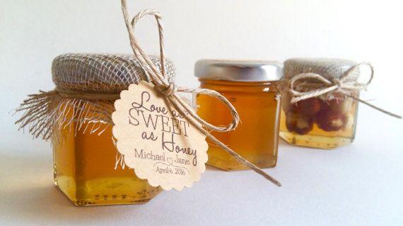 Unique Wedding Favors Honey Jarhoney Favourbaby Shower Favors