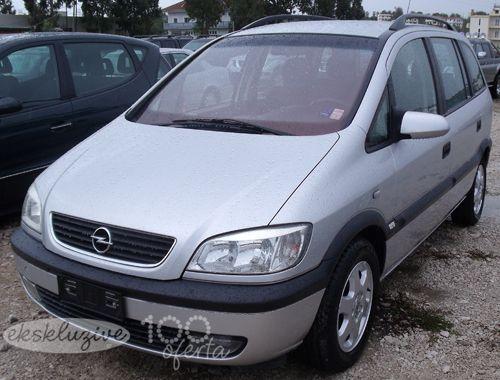 Opel Zafira Viti 2000 Opel Suv Car Car Door
