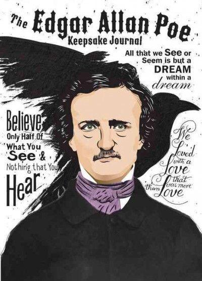 The Edgar Allan Poe Keepsake Journal Includes 10
