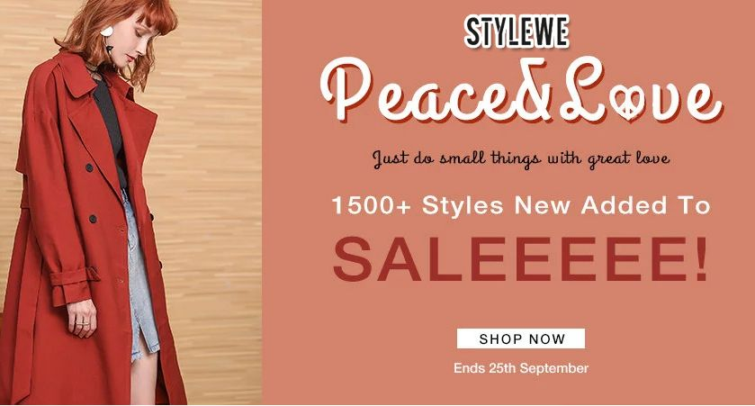 Pin On Stylewe Coupon Codes