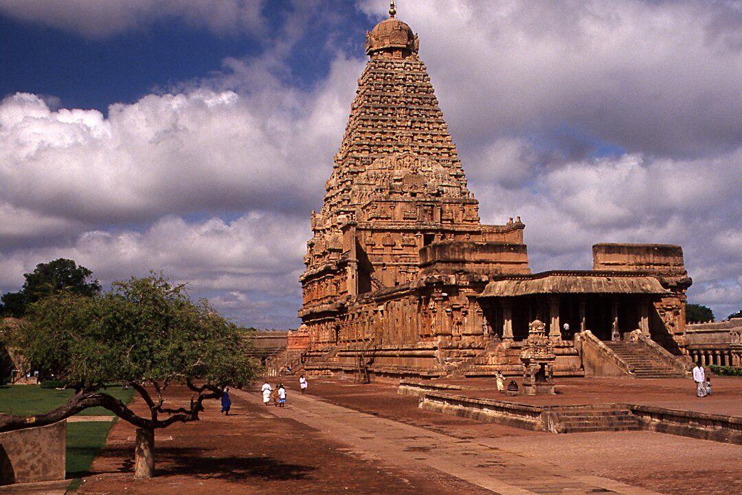 Tanjavûr, temple Brihadishwara