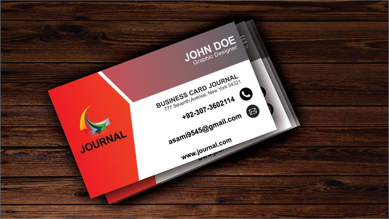 How To Create Simple Business Card Design In Coreldraw X6 Business Card Design Simple Simple Business Cards Make Business Cards