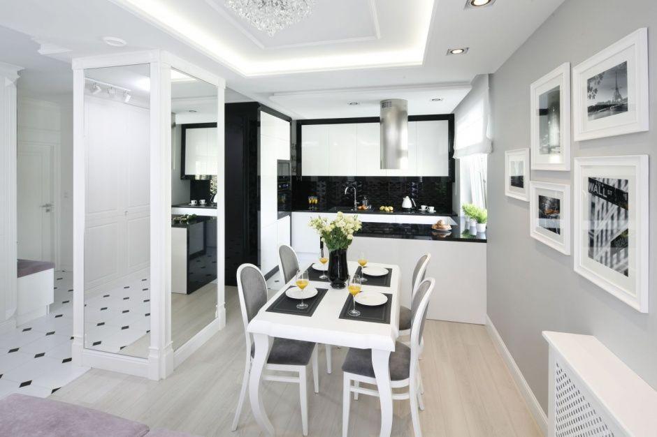 Czarno Biala Kuchnia Tak Wyglada W Polskich Domach Home Home Decor House Design