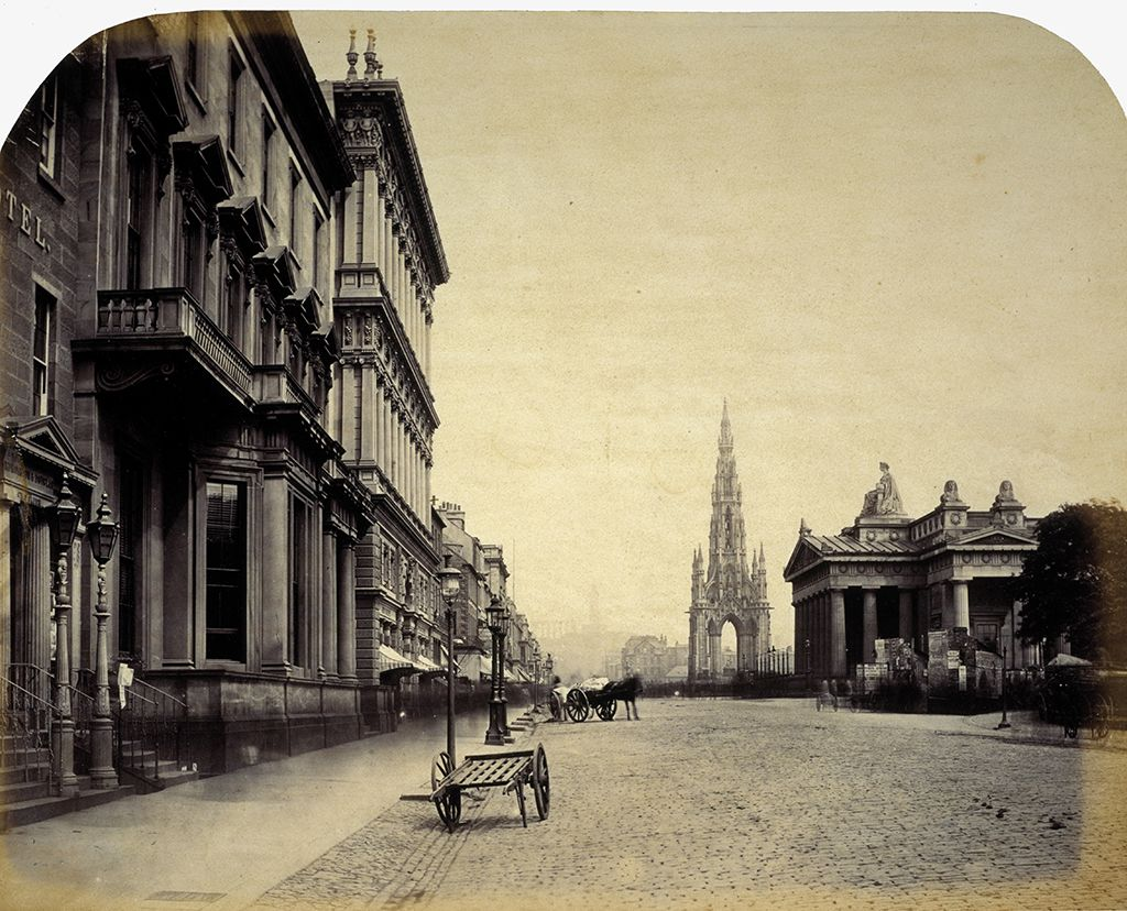 36 Incredible Vintage Photos Show The Life In Scotland From Between 1840s 80s Scott Monument Old Town Edinburgh Edinburgh