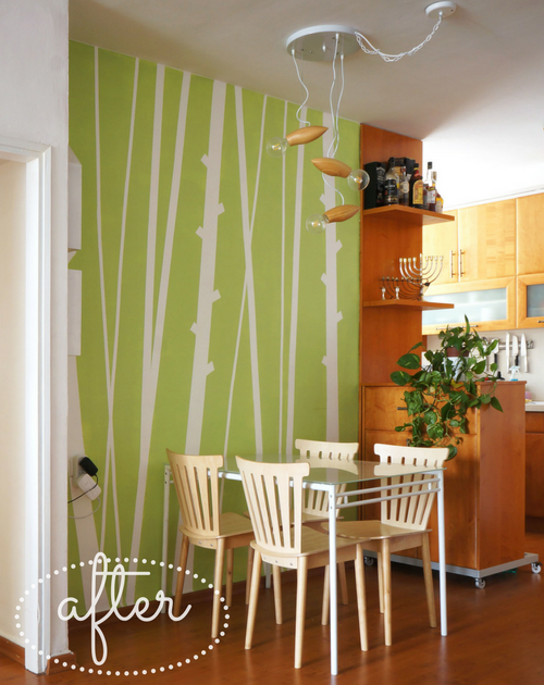 Bamboo Accent Wall