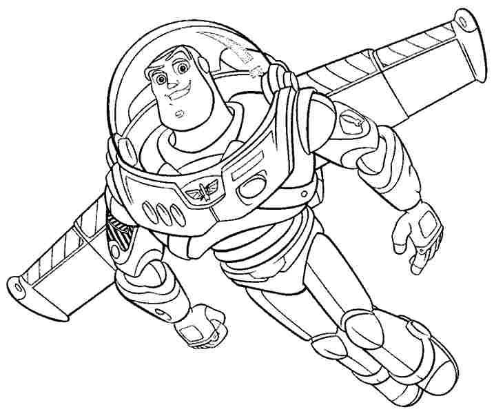 toy story coloring pages buzz lightyear toy story coloring pages