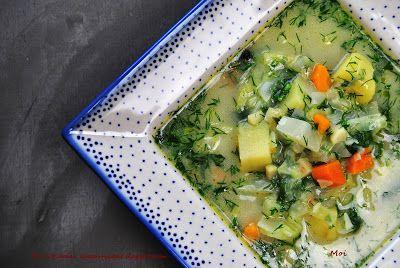 R'n'G Kitchen: Zupa z białej kapusty