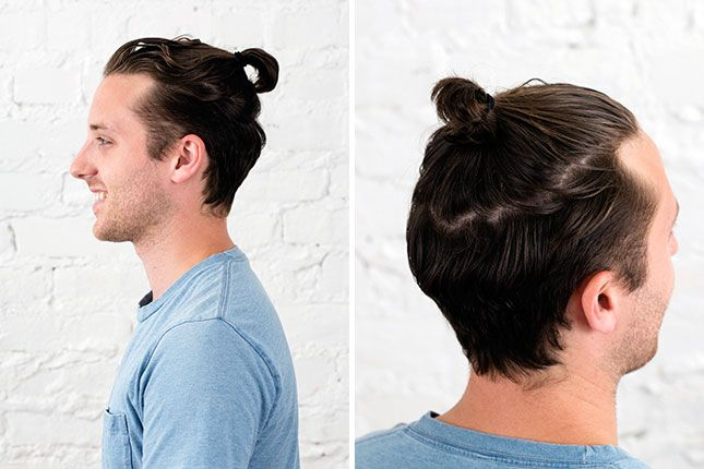Growing My Man Bun Week 2 Wait I Have To Use Hair Products Man Bun Hairstyles Hairstyles Inspiration Growing Out Hair